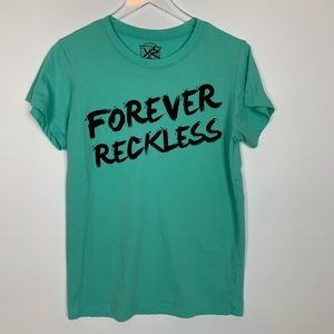 🌷Young & Reckless Forever Reckless Graphic Tee M